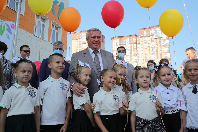В День знаний донской губернатор поприветствовал школьников и педагогов Ростовской области