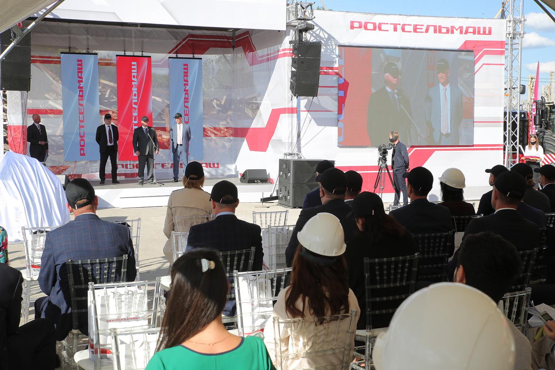 В Ростове-на-Дону дан старт строительству тракторного завода «Ростсельмаш»
